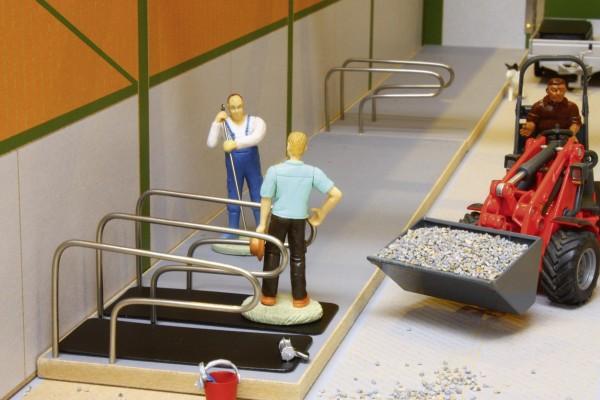 Plattform für Rinderboxen einreihig (2 Stück) Modell von Brushwood Toys 1:32