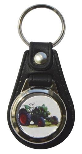 Schlüsselanhänger Allgaier mit Einkaufswagen-Chip Modell