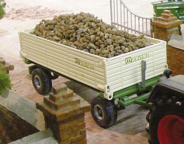 Zuckerrüben einzeln - natur/ braun 150 g Modell von Juweela 1:32