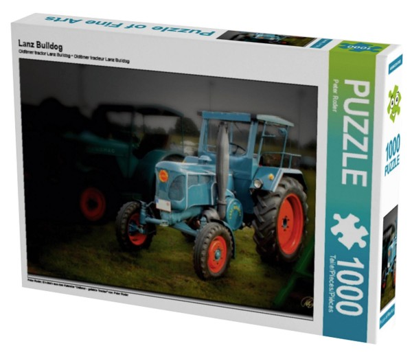 Oldtimer Traktoren Lanz Bulldog Puzzle