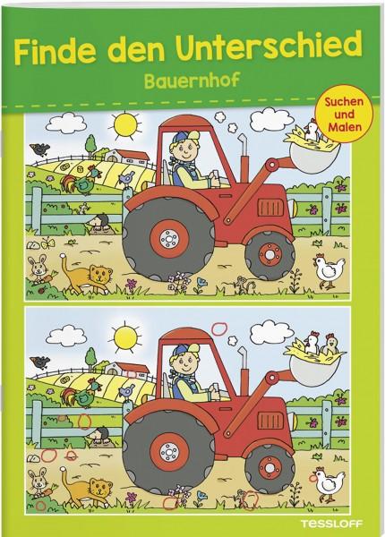 Finde den Unterschied - Bauernhof