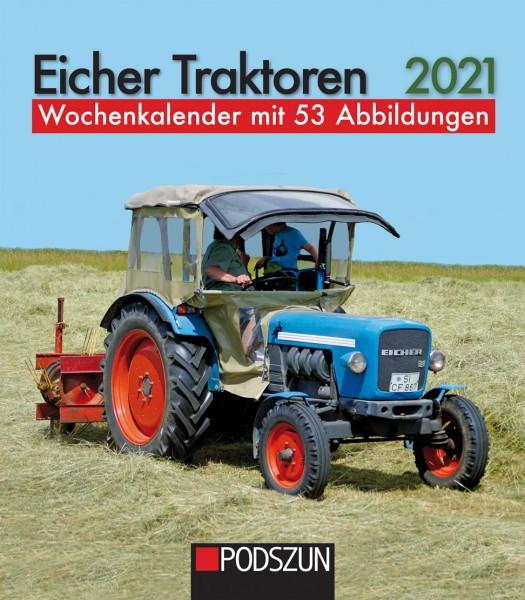 Eicher Traktoren 2021 Wochenkalender