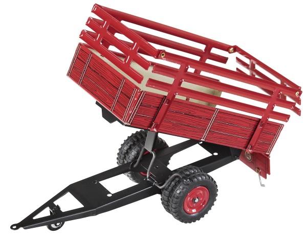 Einachsanhänger mit Aufbau (rot) Modell von Kovap 1:25