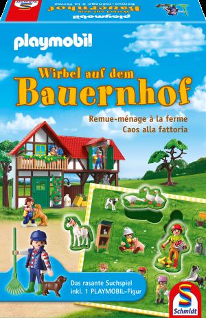 Playmobil - Wirbel auf dem Bauernhof - Spiel