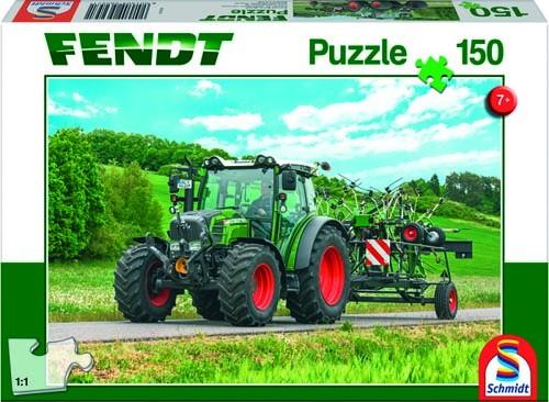 Puzzle Fendt 211 Vario mit Fendt Wender Twister, 150 Teile