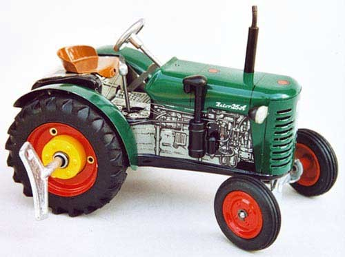 Zetor 25 A Traktor grün Modell von Kovap 1:25