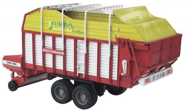 Pöttinger Jumbo 6600 Ladewagen Modell von Bruder 1:16