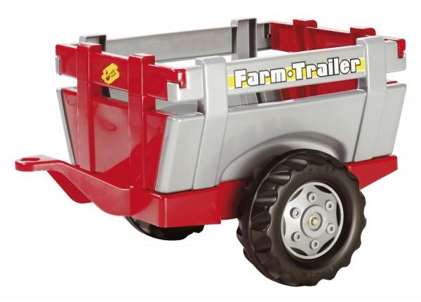 Farm Anhänger rot/silber von rolly toys