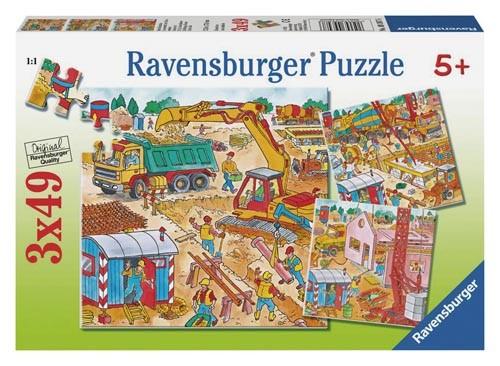 Puzzle Beim Hausbau