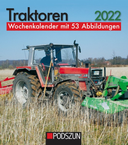 Traktoren Wochenkalender 2022