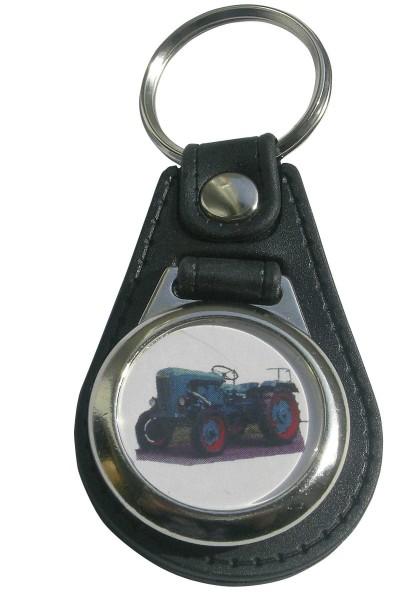 Schlüsselanhänger Holder 10 PS mit Einkaufswagen-Chip Modell