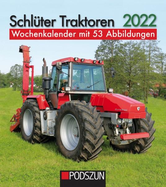 Schlüter Traktoren Wochenkalender 2022