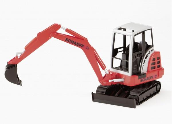 Schaeff HR16 Minibagger Modell von Bruder 1:16