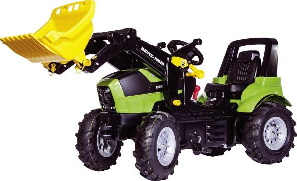 Deutz Agrotron 7250 TTV Trettraktor von rolly toys mit Frontlader, Luftbereifung, Gangschaltung und