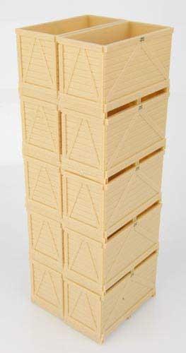 Maupu 1180/200 Plattformanhänger mit 10 Kisten Modell von Replicagri 1:32