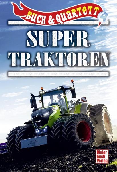 Super Traktoren Buch & Quartett
