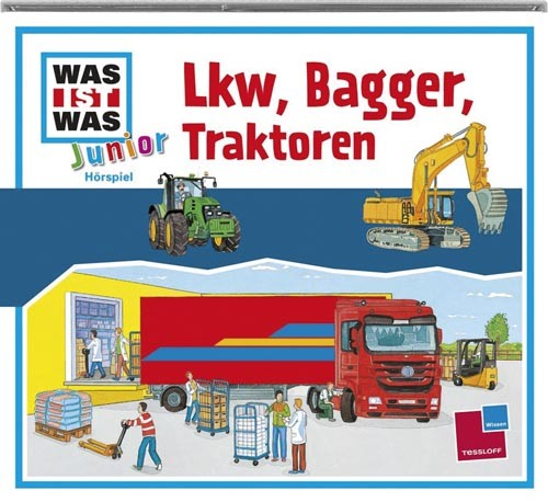 """Was ist Was CD-Hörspiel: """"Lkw, Bagger, Traktoren"""""""