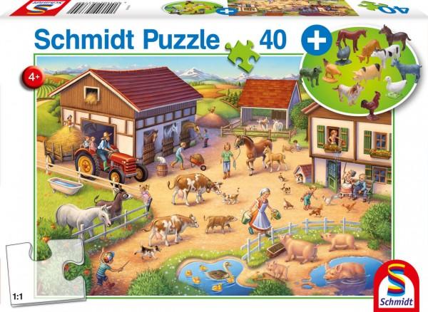 Lustiger Bauernhof Puzzle