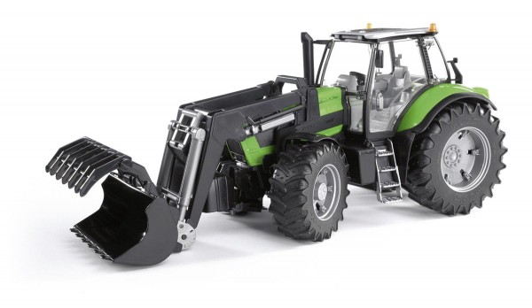 Deutz Agrotron X720 mit Frontlader Modell von Bruder 1:16