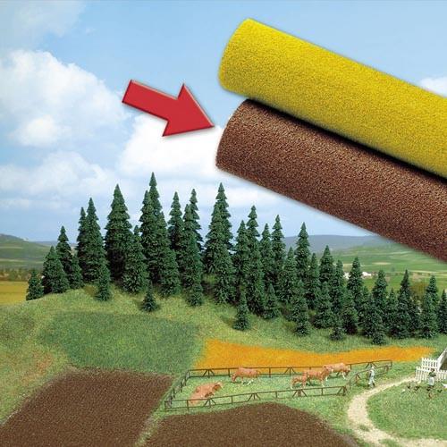 Ackerboden Spezialstruktur-Teppich Modell von Busch 1:87