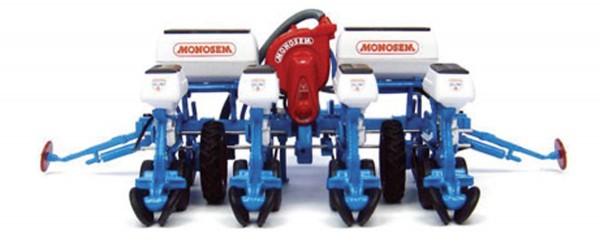 Monosem NG 4 Plus 4R Einzelkornsämaschine Modell von Universal Hobbies 1:32