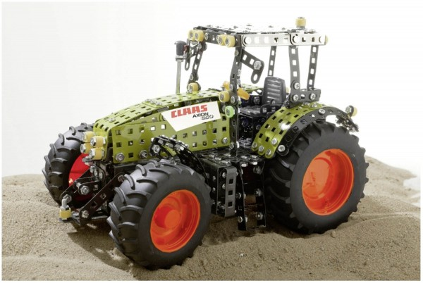 Traktor Metallbaukasten Claas Axion 850 Modell von Tronico 1:16