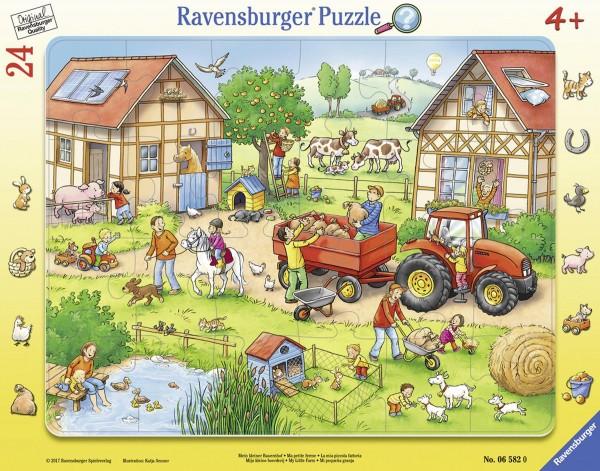 Rahmenpuzzle Mein kleiner Bauernhof