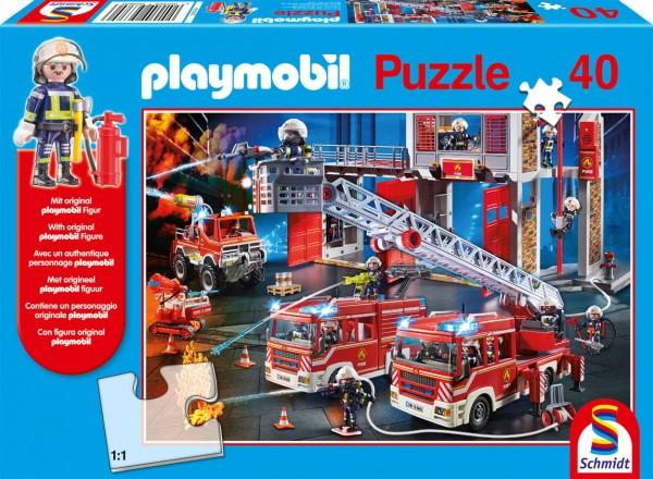 Playmobil Feuerwehr Puzzle