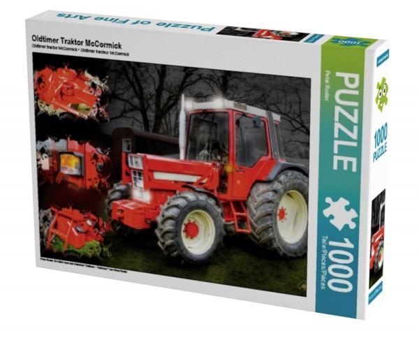 Oldtimer Traktoren IHC McCormick Puzzle