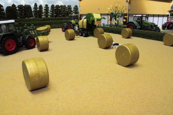 Stoppelfeld als Untergrundmatte Modell von Brushwood Toys 1:32