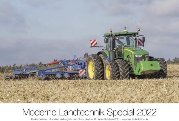 Moderne Landtechnik John Deere Kalender 2022
