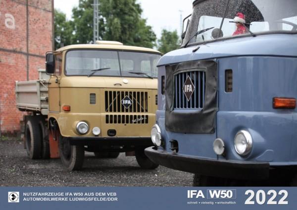 IFA W50 Monatskalender 2022