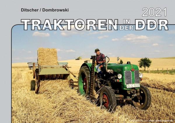 Traktoren in der DDR Monatskalender 2021