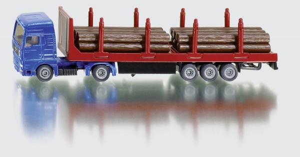 Holztransport Holz-Transport-LKW Modell von Siku Blister