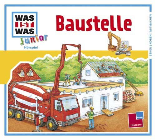 """Was ist Was """"Baustelle"""" CD-Hörspiel"""