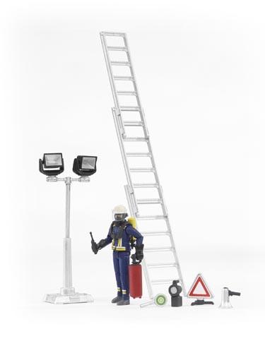 Figurenset Feuerwehr Modell von Bruder 1:16