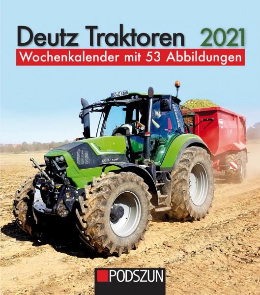 Deutz Traktoren 2021 Wochenkalender