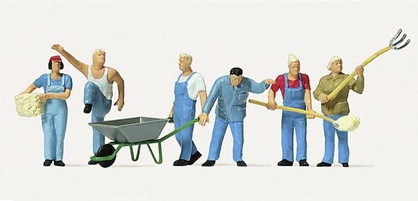 Moderne Landwirte Modell von Merten 1:87