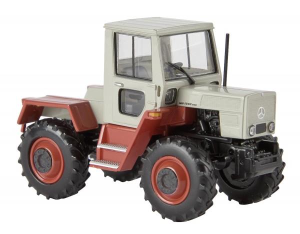 MB trac 800 grau/rot von Starmada Modell von Brekina 1:87