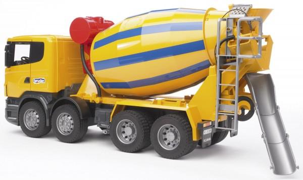 Scania R-Serie Betonmisch-Lkw Modell von Bruder 1:16