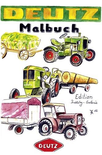 Malbuch ... Deutz-Traktoren