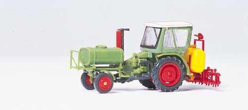 Geräteträger mit Verdeck, Spritzgerät (Bausatz) Modell von Preiser 1:87