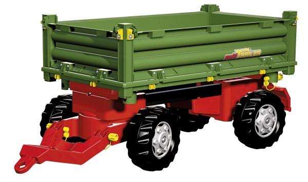 Multi Trailer Dreiseitenkipper grün/rot von rolly toys
