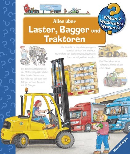 Wieso Weshalb Warum?: Alles über Laster, Bagger und Traktoren