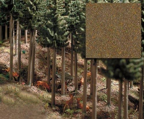 Laubwald-Boden Modell von Busch 1:87