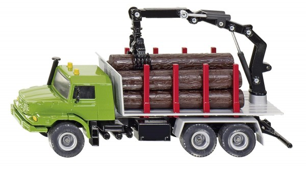 Holztransport–Lkw Modell von Siku 1:50