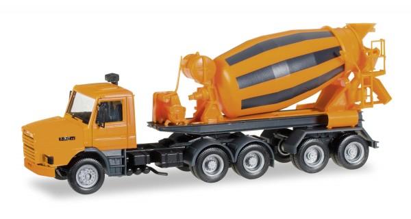 Scania 142 Hauber Betonmischer-Sattelzug Modell von herpa 1:87