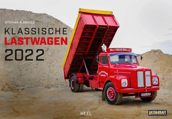 Klassische Lastwagen Monatskalender 2022