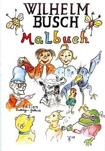 Malbuch... Wilhelm Busch