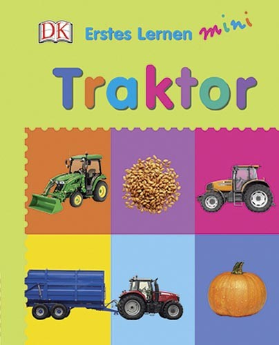 Traktor - Bilderwörterbuch